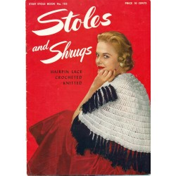 Stole Shrugs Patterns 1950s PDF