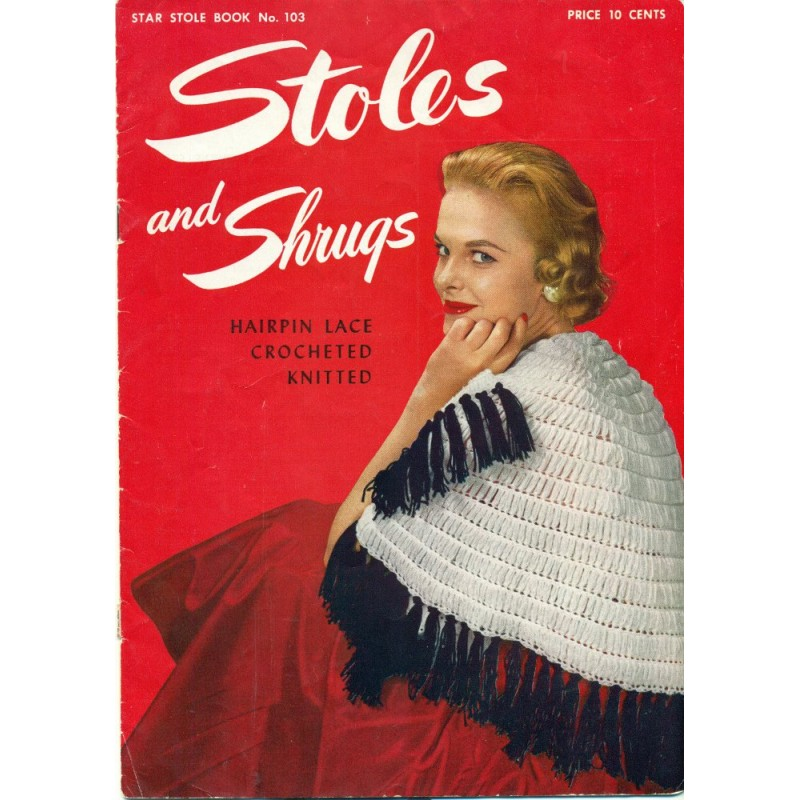 Stole Shrugs Patterns 1950s Pdf