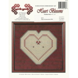 Hardanger Embroidery Heart Pattern