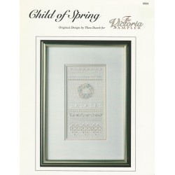 Victoria Sampler Embroidery Pattern