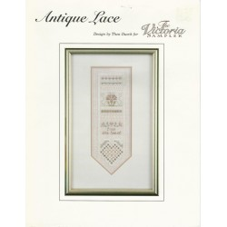 Antique Lace Embroidery Pattern