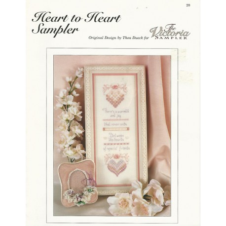 Embroidery Sampler Heart to Heart