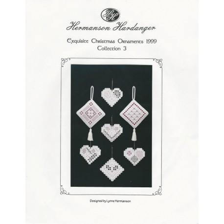Hardanger Xmas Ornament Pattern