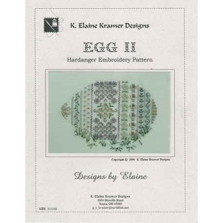 Hardanger Egg II Design Kramer