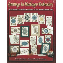 Greetings Hardanger Embroidery Pat