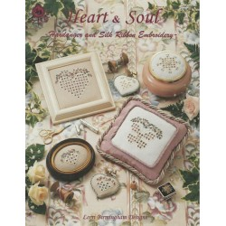 Heart & Soul Hardanger Silk Ribbon