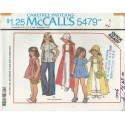Girls Dress Top Hat Pattern 5479