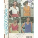 Womens Knit T-Shirt Pattern 6098