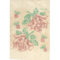 Iron Transfers Rose Rosebud CC2