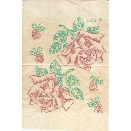 Iron Transfers Rose Rosebud CC2
