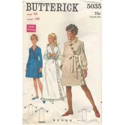 Robe Sewing Pattern Butterick 5035