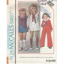 Childs Sailor Suit Pattern 5480