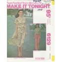 Womens Skirt Top McCalls Pat 6129