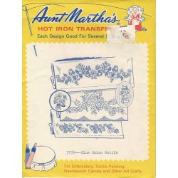 Aunt Martha's Iron On Transfer 3759