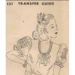 Household Mag Transfer Blouse 131