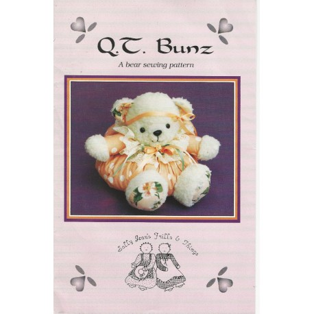 QT Bunz Bear Pattern Sewing