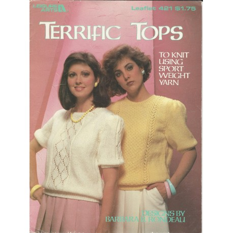 1980s Knitting Pattern Book 421