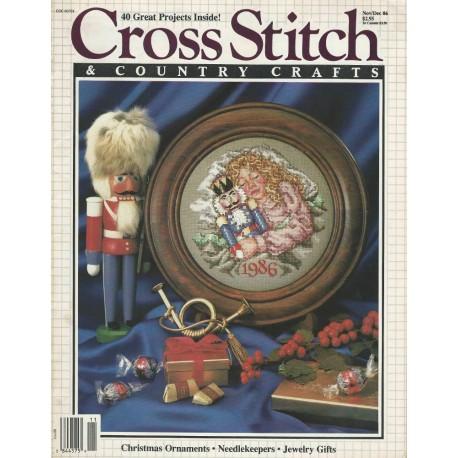Cross Stitch Magazine 1986 Patterns