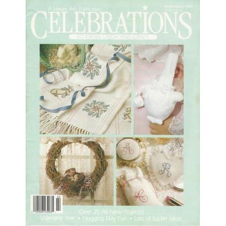 Celebrations Cross Stitch 1990
