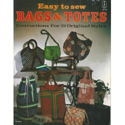 1970s Bags Totes Sew Pattern SP10