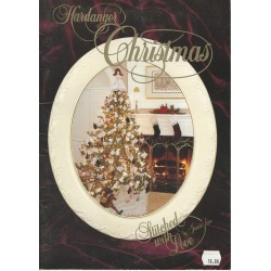 Hardanger Christmas Stitched Love