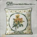 Cross Stitch Pillow Kit 1970s