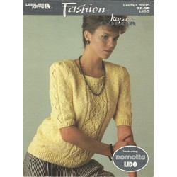 1980s Knitting Sweater Pattern 1505