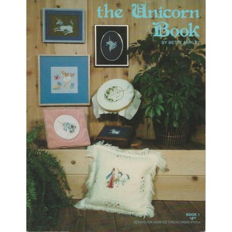 Unicorn Book Cross Stitch Ashley