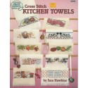 Cross Stitch Kitchen Towels 3518