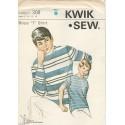 Boys T Shirt Pattern Kwik Sew 308