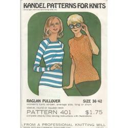 Kandel Women's Top Pattern 401
