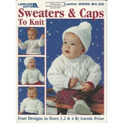 Baby Sweaters Caps Knitting 2599