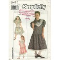 Simplicity Girl Dress Gunne Sax 9425