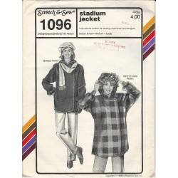 Stretch & Sew 1096 Jacket Pattern