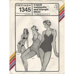 Bikini Swimsuit Pattern 1345