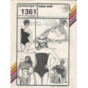 Tube Swimsuit Pattern 1361