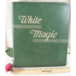 White Magic Sewing Machine 1940's