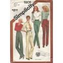 1980's Women's Pants Pattern 5205