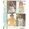 1970's Women's Shirt Top 6140