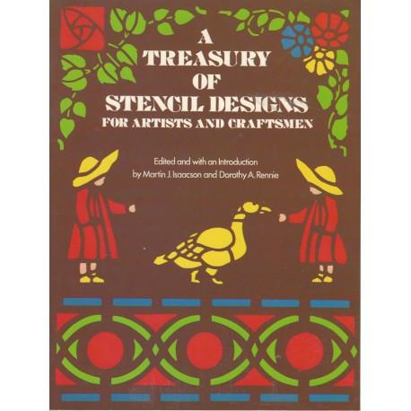 Treasury of Stencil Designs Dover
