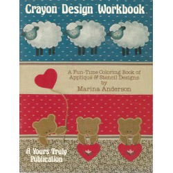 Applique Crayon Design Workbook