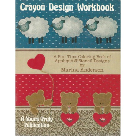 Applique Crayon Design Workbook