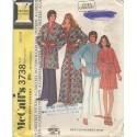 1970s Unisex Bath Robe 3738