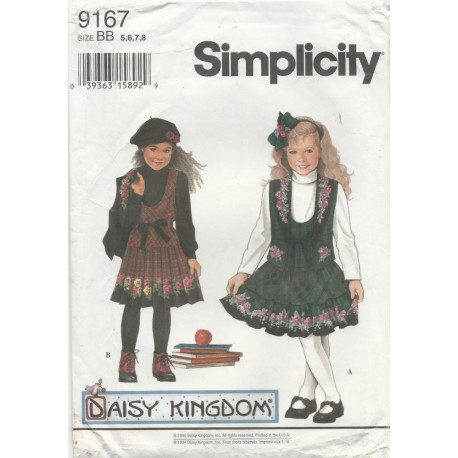 Daisy Kingdom Girl's Dress 9167