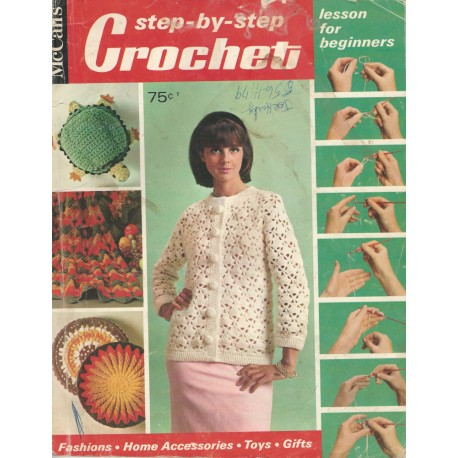 1960's McCalls Crochet Magazine