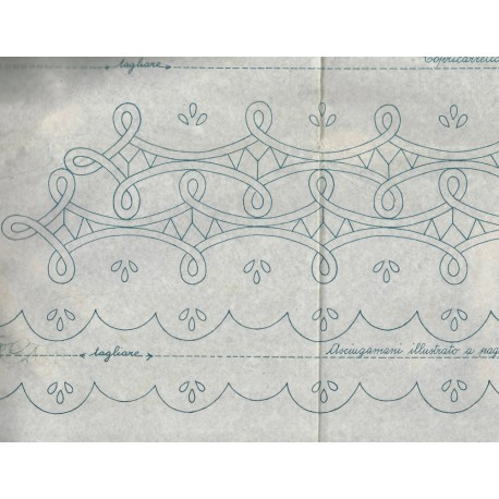 Italian Cutwork Iron On Transfers