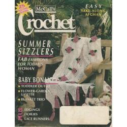 McCall's Crochet Magazine 1990s