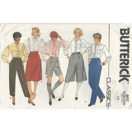 Shorts Culottes Skirt Pants 6637