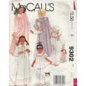 Girls Nightgown Pajamas Robe 9302