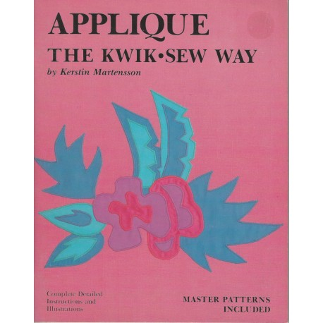 Applique Kwik Sew Way Patterns